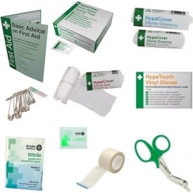 First Aid Refill items