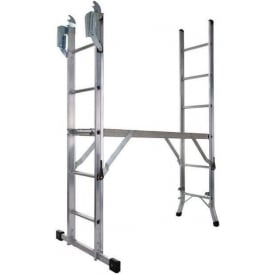 Five Way Combination Ladder and Platform
