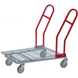 Flatbed Stock Trolley Cap: 200kg