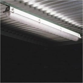 Flourescent Light Unit for Traditional Smoking Shelters