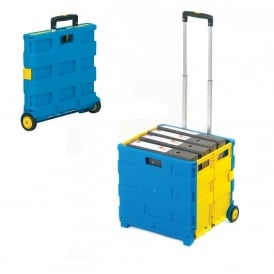 Folding Box Container Trolleys Cap: 25kg or 35kg