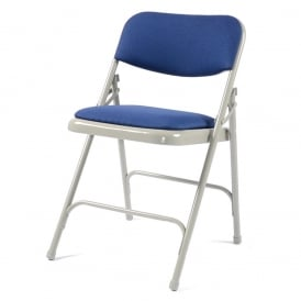Folding Chair x 4 - Classic with upholstered seat & back