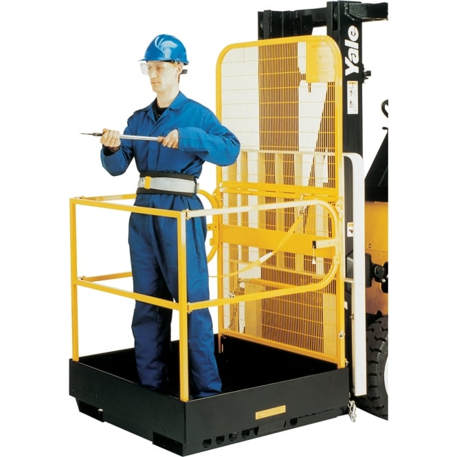 Folding Forklift Access Platform