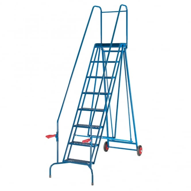 Folding Steel Mobile Safety Steps 4 to 8 Tread