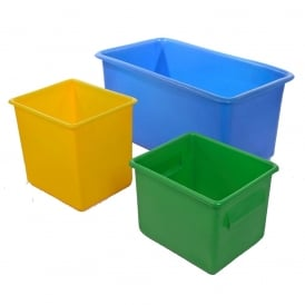 Food Grade Plastic Tanks - Tapered Sides