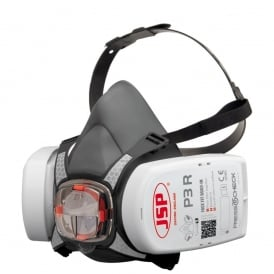 Force 8 Half Mask supplied with Press to Check P3 Filters