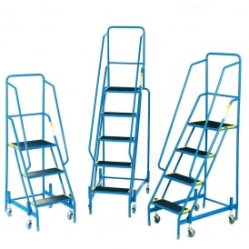 FORT Spring Loaded Mobile Safety Steps 3 to 6 Tread