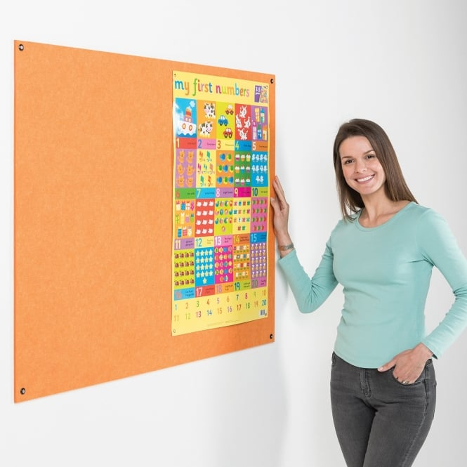 Frameless Eco-Colour Notice Boards