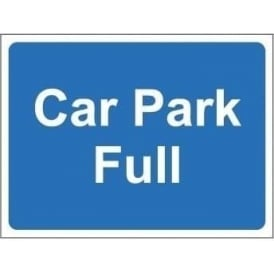 Freestanding Car Park Sign: Car park full