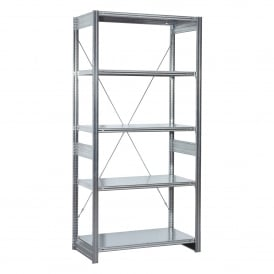 Galvanised Shelving for Euro Containers