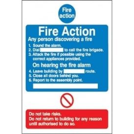 General Fire Action Notices