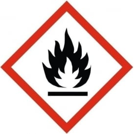 GHS Highly Flammable Label