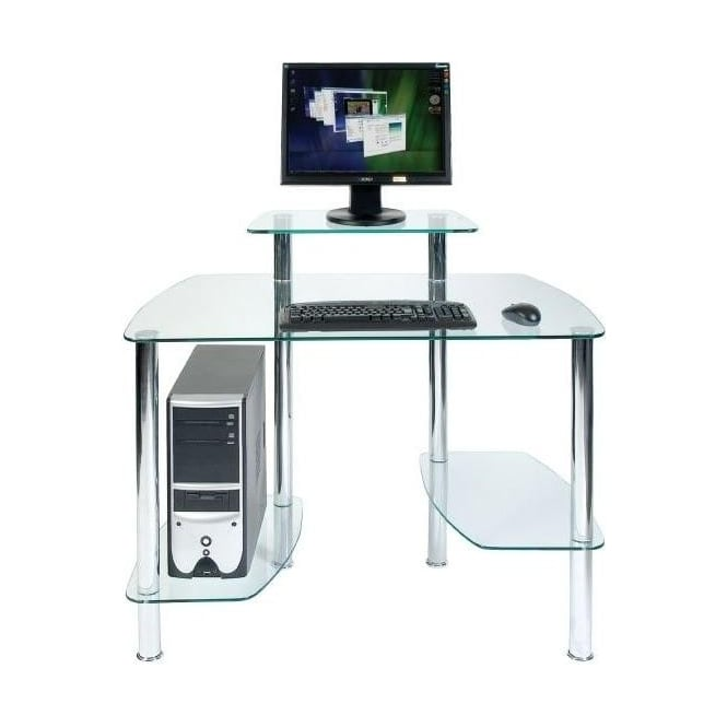 Glacier Glass Desk
