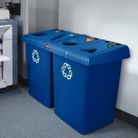 Glutton Recycling Station Cap: 2 x 348lt