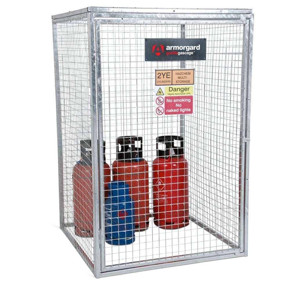 Gorilla Gas Bottle Storage Cages Parrs Workplace Equipment
