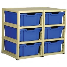 GratStack Tray Storage System - Double Column