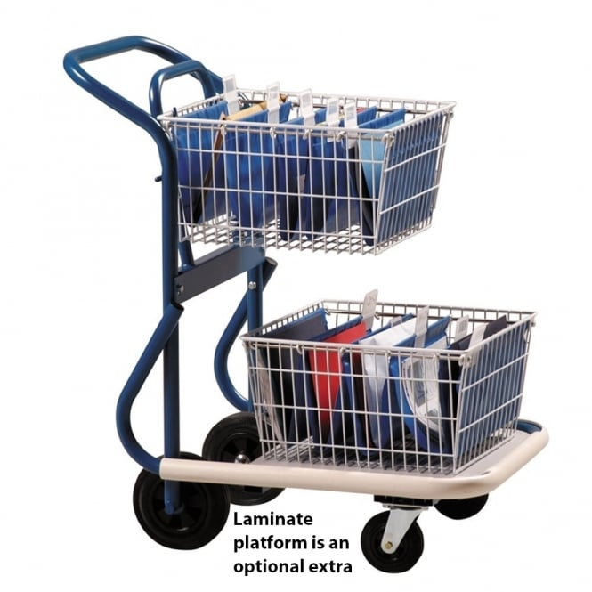 GT1 Mailroom Trolley Cap: 70kg