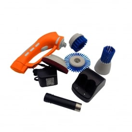 Hand Held Battery Powered Multi Scrubber - Light User Kit