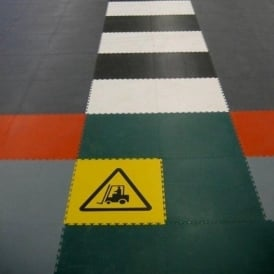 Hazard Warning/Safety Sign Tiles
