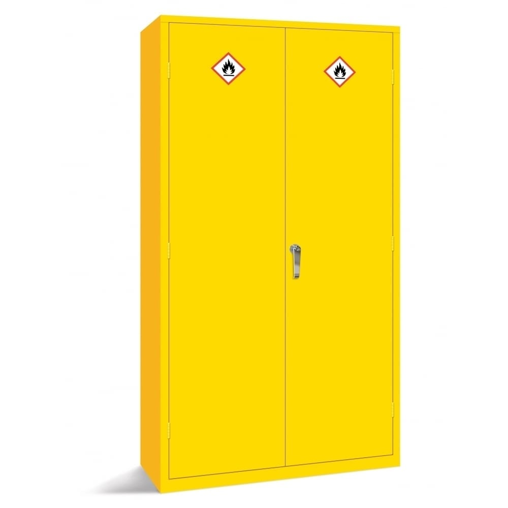 Hazardous Storage Cabinets Fully Welded Double Door