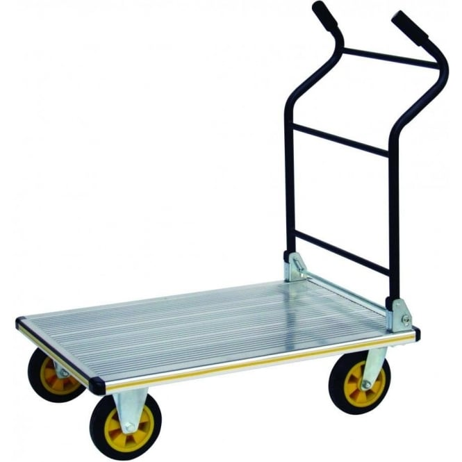 Heavy Duty Aluminium Folding Platform Trolley Cap: 350kg