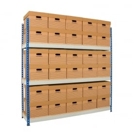 Heavy Duty Archive Shelving Single Unit