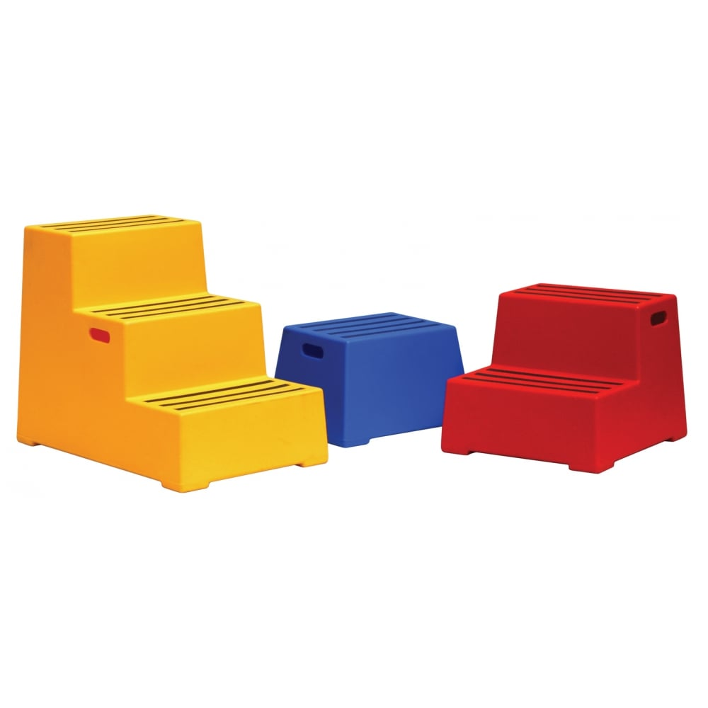 Plastic Step Up Stool Parrs Workplace Equipment