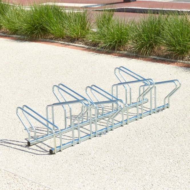 Heavy Duty Double Level Bike Racks - Face to Face