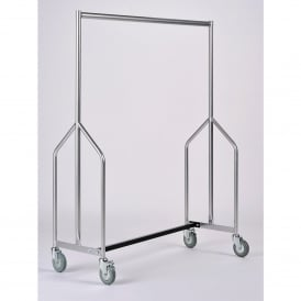 Heavy Duty Mobile Garment Rail
