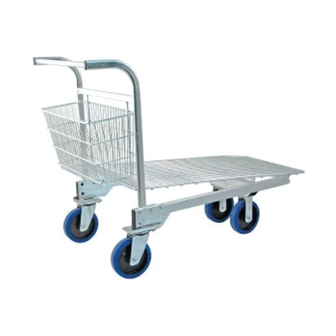 Heavy Duty Nestable Stock Trolley Cap: 400kg