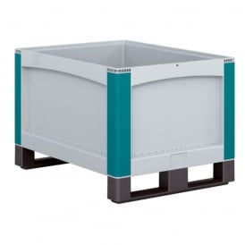 Heavy Duty Pallet Boxes with solid sides & runners