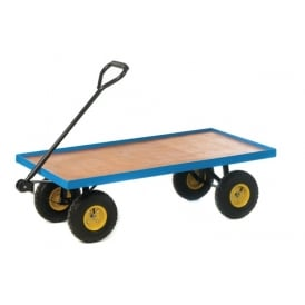 Heavy Duty Platform Turntable Trucks with plywood base Cap: 250kg