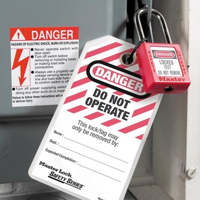 Heavy Duty Safety Lockout Tags