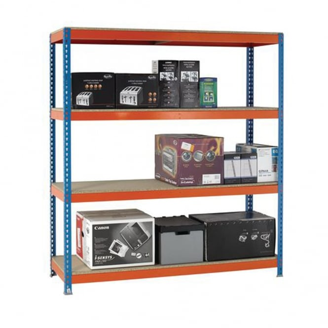 Heavy Duty Shelving - Width 1800mm x Height 2000mm