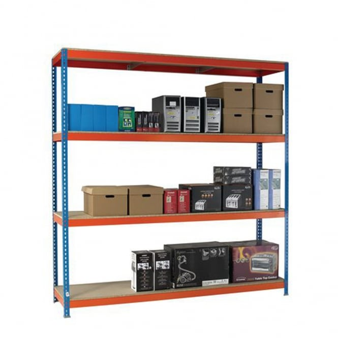 Heavy Duty Shelving - Width 2100mm x Height 2500mm