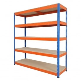 Heavy Duty Shelving - Widths: 1830, 2134 or 2440mm x Height 1980mm