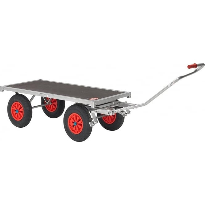 Heavy Duty Turntable Truck with Brake Cap: 750kg