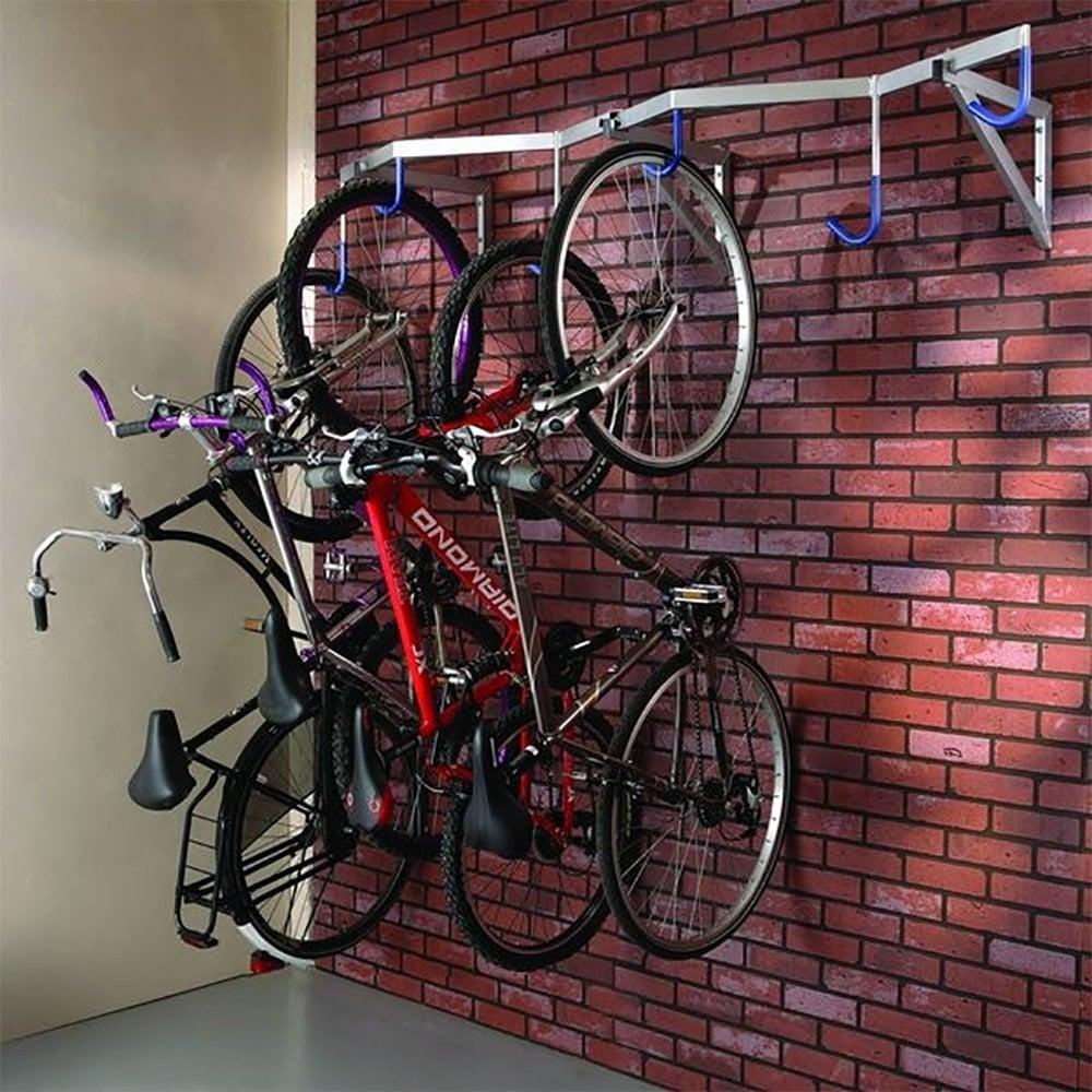 Heavy Duty Vertical Bike Rack 6 Bikes