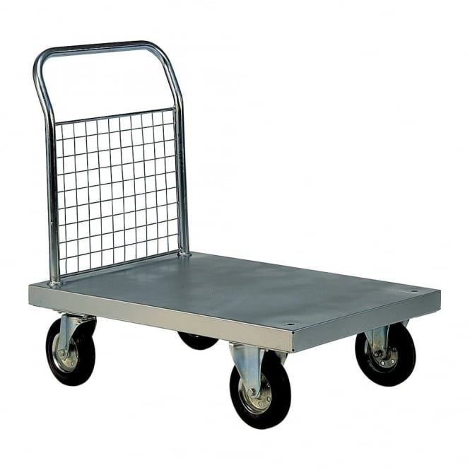 Heavy Duty Zinc Plated Platform Trucks Cap: 700kg