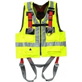 Hi Visibility Full Body Harness