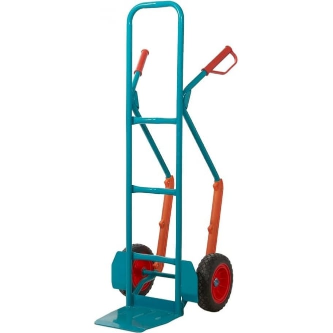 High Back Steel Sack Truck with REACH compliant wheels Cap: 250kg