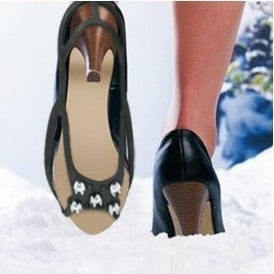 High Heel Snow and Ice Shoe Grips