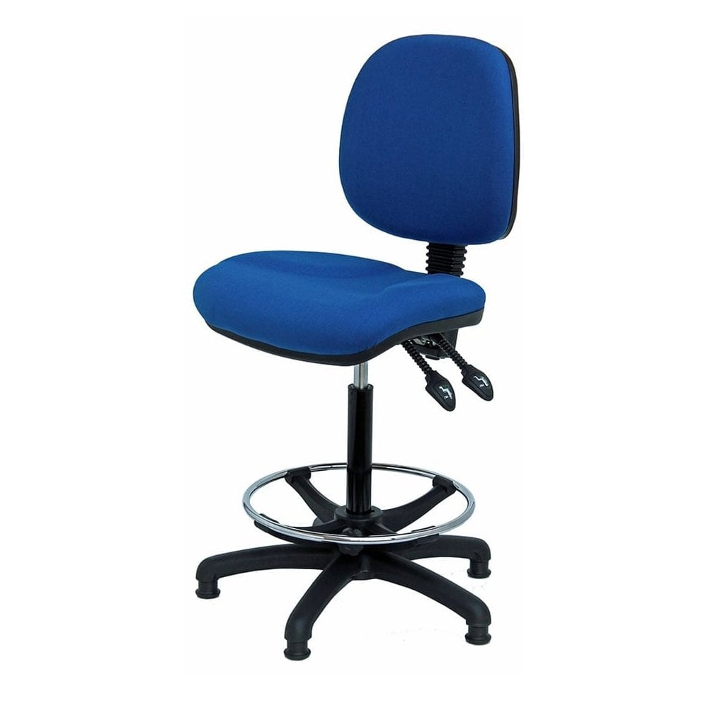 Peachy High Rise Industrial Office Chairs With Castors Or Glides Home Interior And Landscaping Dextoversignezvosmurscom