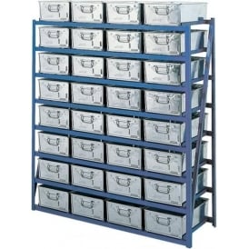 Horizontal Racks complete with Tote Pans