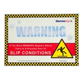 Ice Warning Thermosign