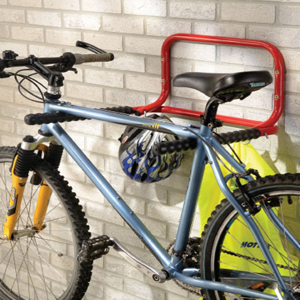 Indoor Wall Mounted Folding Bike Rack | PARRS Workplace Equipment