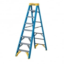 Industrial Fibreglass Swingback Step Ladders