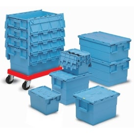 Integra Attached Lid Distribution Containers