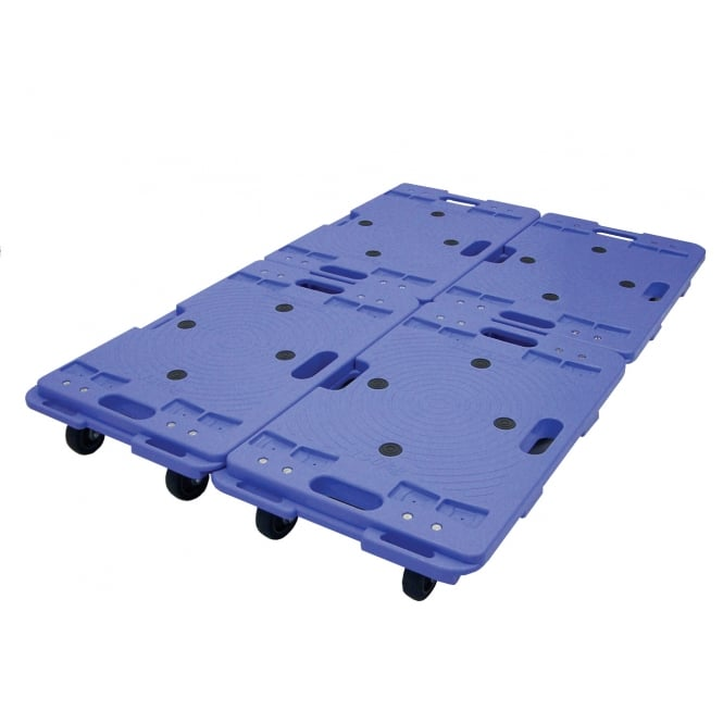 Interconnecting Plastic Dolly Cap: 150kg