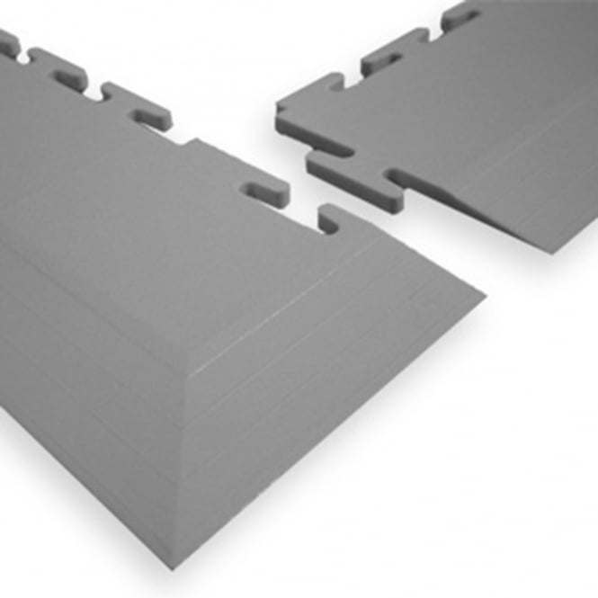 Interlocking Floor Tile Edge Ramps and Corners